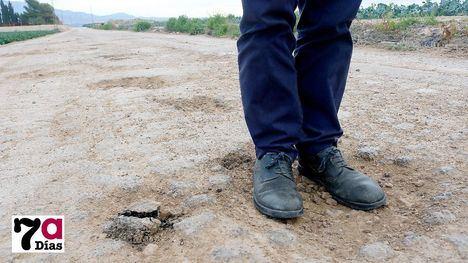 FOTOS PP reclama un plan de mantenimiento y arreglo de caminos