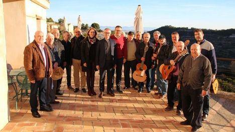 FOTOS El ministro de Cultura, José Guirao, visita El Berro