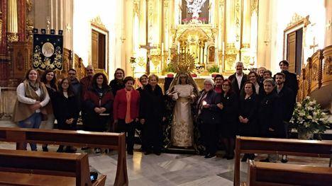 VÍDEO Besamanos y santa misa en honor a la Virgen de la Esperanza