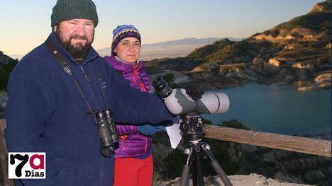 Meles contabiliza las aves acuáticas que invernan en Alhama