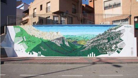 VÍDEO Cinco minutos le bastan a Murfy para pintar un mural