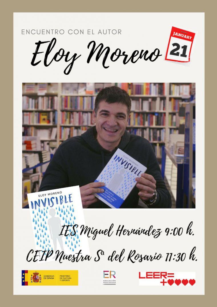 IES Miguel Hernández espera la visita de un conocido novelista