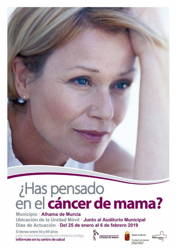 1.500 mujeres serán citadas para prevenir el cáncer de mama