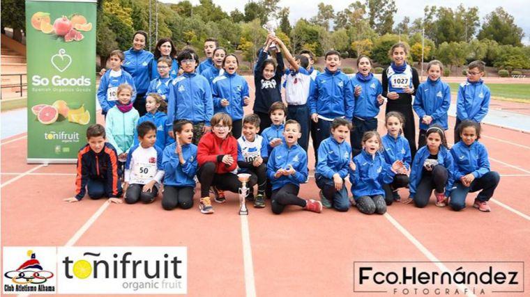 Nuevos triunfos del Club Atletismo Alhama en la Liga de Clubes