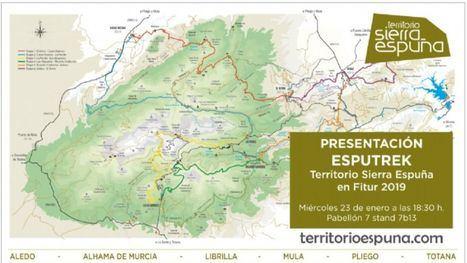 La Mancomunidad Turística de S. Espuña lleva Esputrek a Fitur