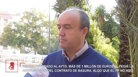 El PSOE local defiende su gestión económica y medioambiental