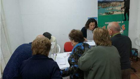 FOTOS Las urnas de los Presup. Participativos 'viajan' a las pedanías
