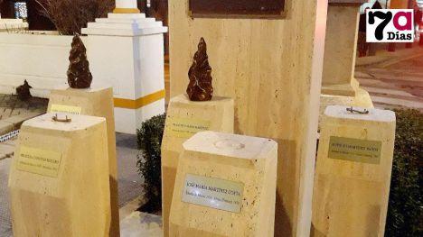 El Ayuntamiento repone el monumento a las víctimas del nazismo