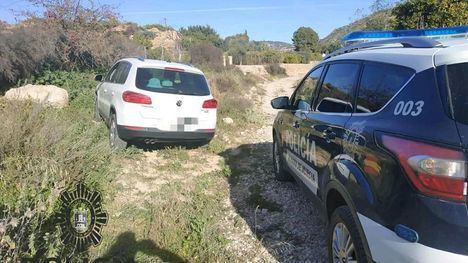 Localizado el coche robado en el asalto a una casa este sábado