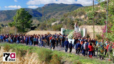 VÍDEO/FOTO Un millar de alhameños arropa a la Candelaria