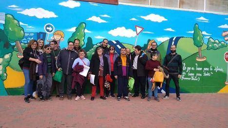 FOTOS Los usuarios de 'Las Salinas' se forman en Educación Vial