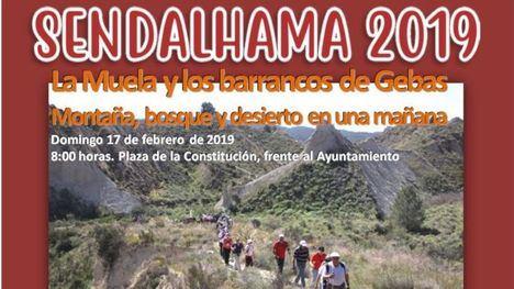 El martes 5 se abre la inscripción de dos rutas de SendAlhama