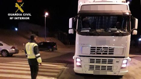 Interceptado un camionero con 5 veces la tasa de alcohol