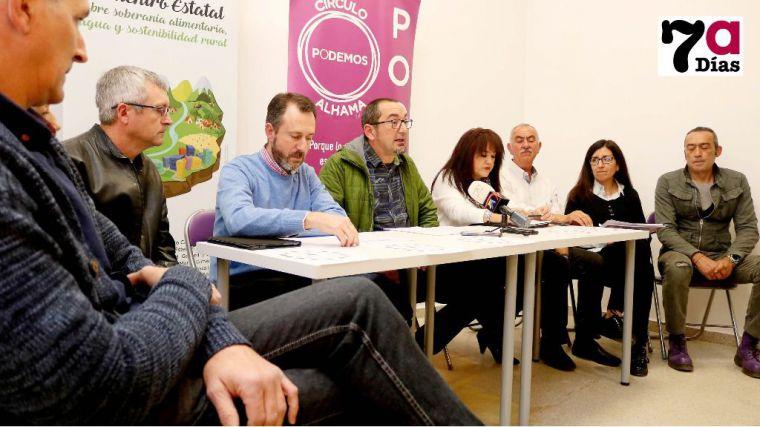 Única, cabeza de lista de Podemos en Alhama a las municipales