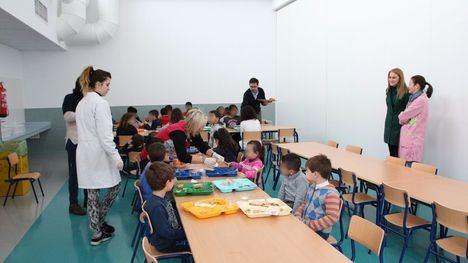 FOTOS Inaugurado el servicio de comedor en el CEIP Sierra Espuña