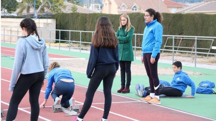 La actividad deportiva regresa a la pista del Complejo Guadalentín