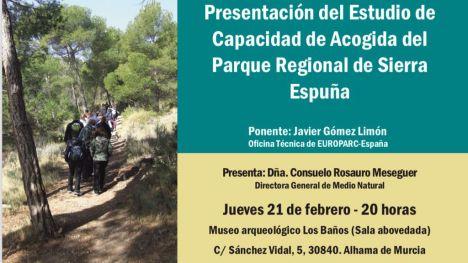 Presentan el estudio sobre la acogida en el Parque Sierra Espuña