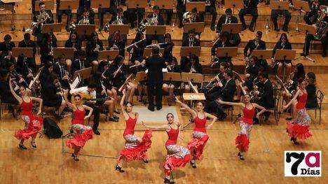 VÍDEO/FOTO Magnífica y emotiva actuación de la Agrupación Musical