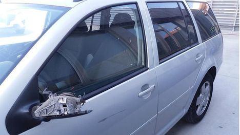 La Policía Local intercepta un coche a la fuga desde Murcia