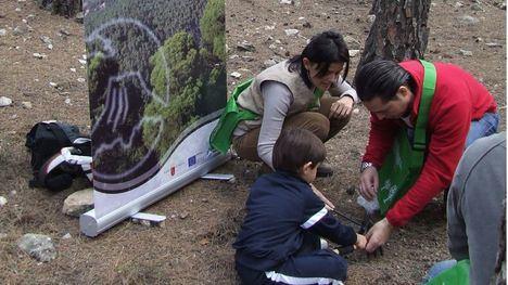 Imagen de archivo de una actividad de reforestación en el Parque Regional Sierra Espuña