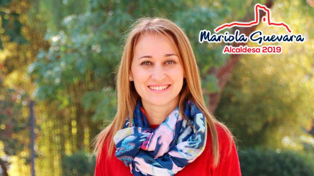 Mariola Guevara presenta su página web personal