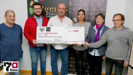 FOTOS El motocross de Alhama renueva su apoyo a D'Genes