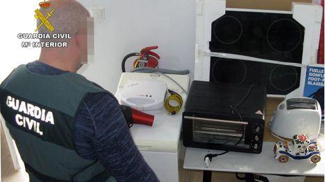 Guardia Civil investiga a una pareja que robaba casas de Mazarrón