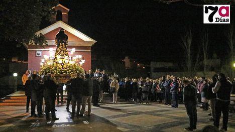 FOTOS El primer Via Crucis trae las esencias de Semana Santa