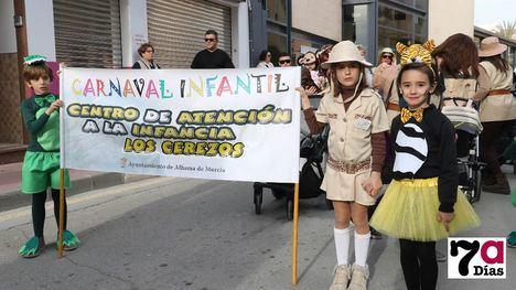 VÍDEO/FOTO El CAI Los Cerezos lidera el Carnaval Infantil