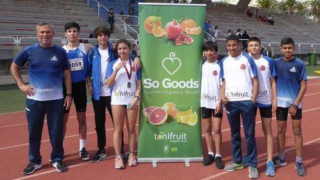 Continúa la cosecha de éxitos de los atletas de Alhama de Murcia