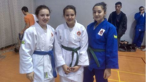 Cinco judokas alhameños, entre los mejores de la Región