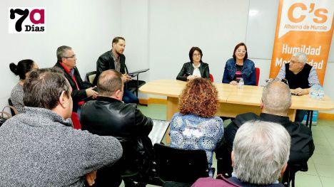 C's Alhama apoya la candidatura de Isabel Franco a las primarias
