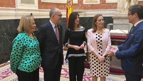 Perla Fuertes lleva el cartel del Entierro de la Sardina al Congreso