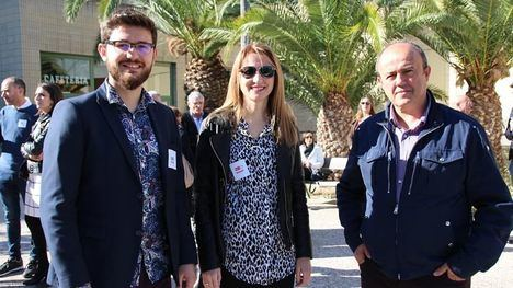 FOTOS El PSOE de Alhama felicita a Sánchez Blesa