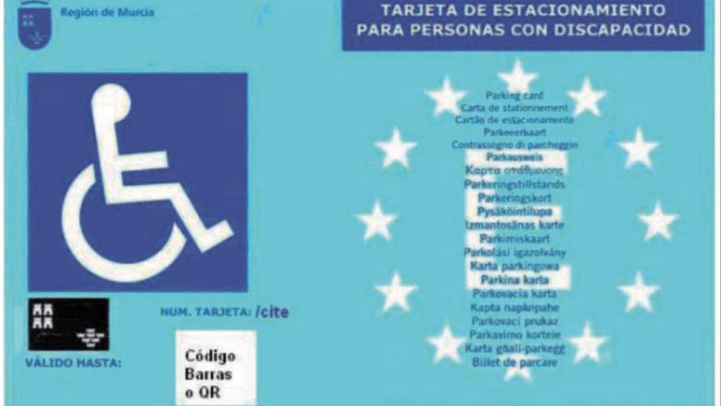 Aprobada la ordenanza de tarjetas de párking para discapacitados