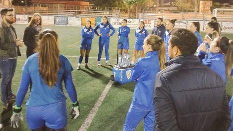Guevara y Caja animan al Alhama CF Femenino ante el reto del domingo