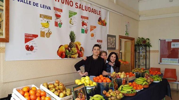 El Valle de Leiva enseña a tomar un desayuno saludable a los alumnos