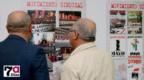VÍDEO/FOTOS La lucha sindical de 40 años en una exposición