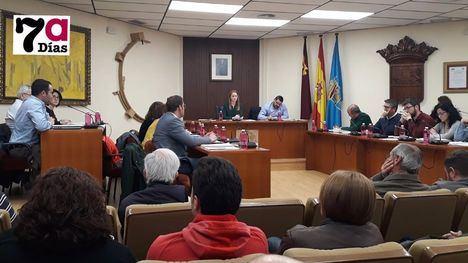 VÍDEO Polémica en el pleno por la moción sobre el Trasvase