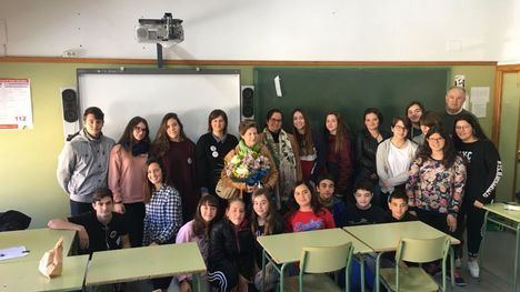 FOTOS Visita especial al Comité Feminista del Miguel Hernández