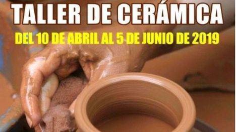Nuevo taller de cerámica a cargo de Juan Luis Benedicto
