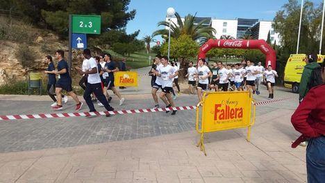 Un millar de corredores de la UMU, en solidaridad con D'Genes