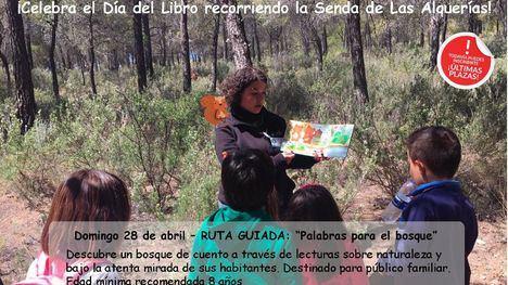 Sierra Espuña organiza una ruta guiada por el Día del Libro