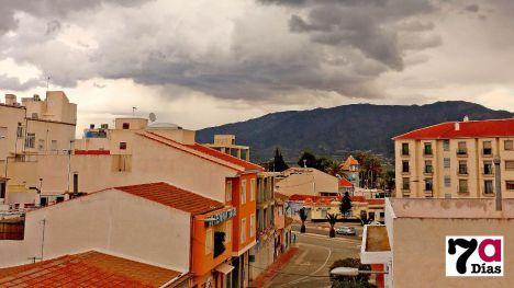 La lluvia deja este sábado 69,5 litros por m2 en Alhama