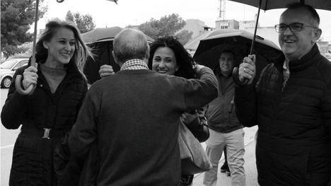 FOTOS La alcaldesa recibe a las campeonas del Alhama CF