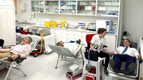 Los trabajadores de ElPozo se vuelcan en la donación de sangre