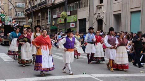 VÍDEO/FOTOS Los Mayos triunfan en el Bando de la Huerta