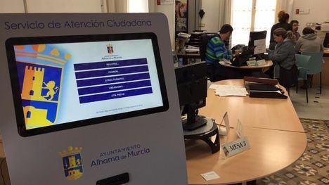 El Ayuntamiento instala un sistema electrónico de Cita Previa
