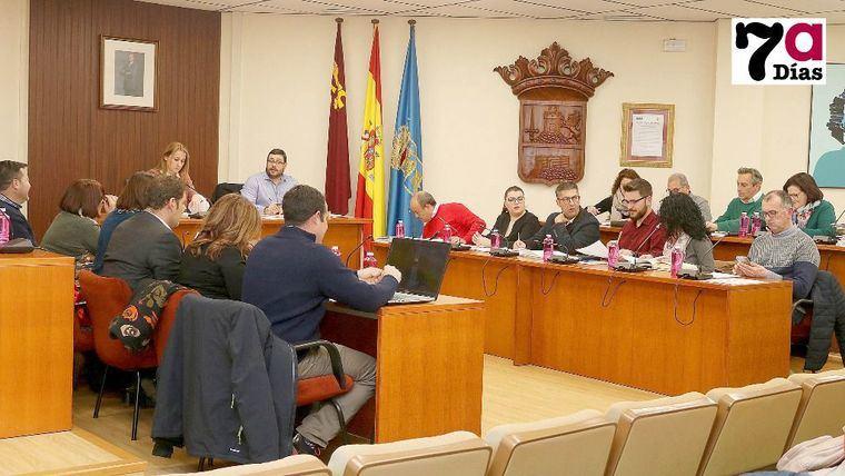 Pleno de enero, donde acordó la prórroga del contrato de Socamex