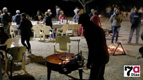 VÍDEO/FOT. Migas y el pregón del cronista, en la Fiesta de La Cañada